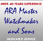 ARA Master Watchmaker and Sons Coupons