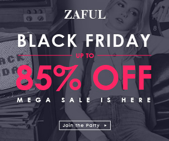 Zaful Black Friday Coupons